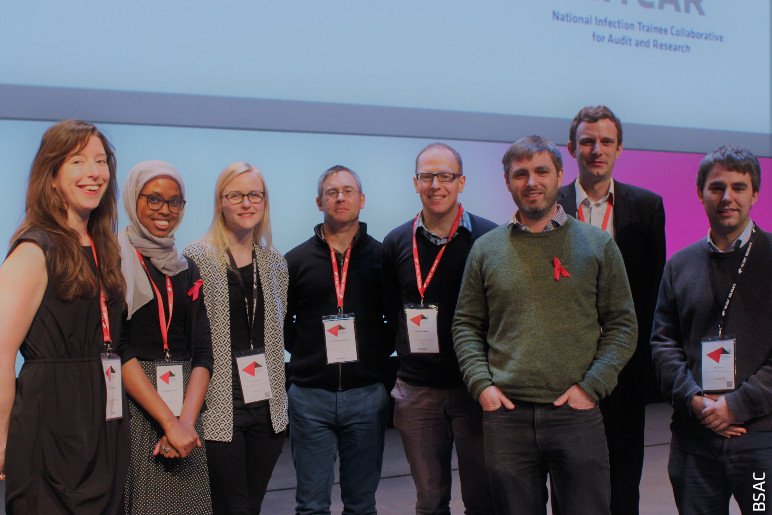 NITCAR speakers and committee members at FIS 2017: L-R Leila White, Shadia Ahmed, Anne Melhuish, Jonathan Sandoe, Damian Mawer, Andrew Kirby, Jordan Skittrall, Ben Warne